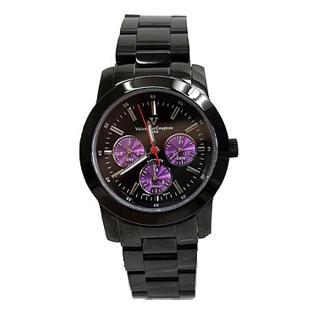 【Valentino】范倫鐵諾真三眼設計手錶 時尚藍寶石鏡面(NE280)