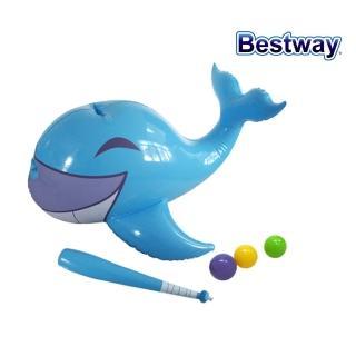 【酷博士】Bestway-互動動物戲水擊球器(鯨魚)