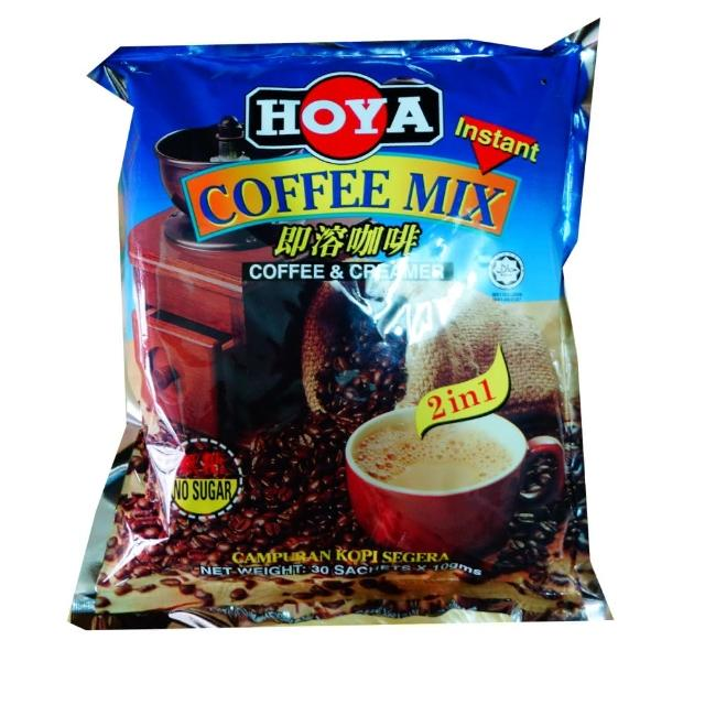 【HOYA】二合一咖啡10g-30包入