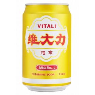 【維大力】汽水 330ml(24入/箱)