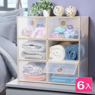 【鞋e家】特大KD可堆疊鞋盒 (6入)