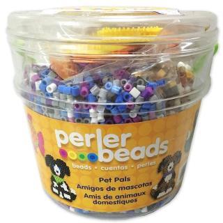 【Perler 拼拼豆豆】我的寵物 8500 顆拼豆組合桶(造型板*3)