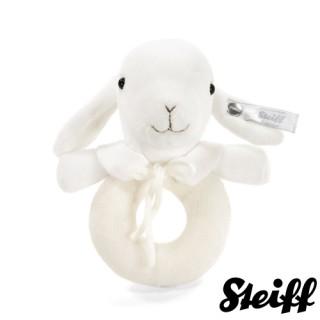 【STEIFF德國金耳釦泰迪熊】Lamb Grip Toy 13cm(北鼻頂級精品 手搖鈴)