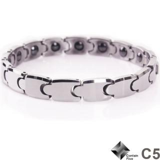 【C5】歐式奢華鎢鋼鍺磁手鍊(女款)