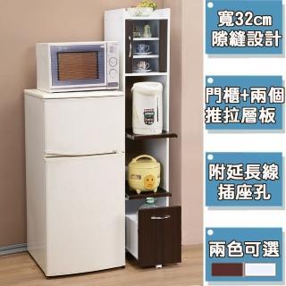 【C&B】加高型廚房隙縫電器櫃