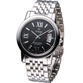 【TITONI】 Spacestar 世紀之星機械腕錶(83738S-343)