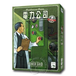 【新天鵝堡桌上遊戲】電力公司 Power Grid(全家、2人)