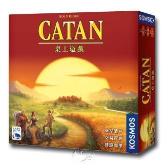 【新天鵝堡桌上遊戲】卡坦島 Die Siedler von Catan(經典、送禮)