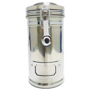 【寶馬牌】郵筒式不鏽鋼密封罐(TA-S-1100 原色)