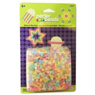 【Perler 拼拼豆豆】2000顆混色補充包-67夜光色系(盒裝)