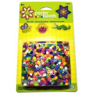 【Perler 拼拼豆豆】2000顆混色補充包-00一般色系(盒裝)