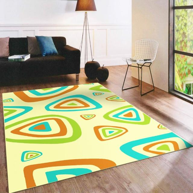 【范登伯格】奧斯汀光澤絲質感地毯-繽紛樂-共兩色(100x140cm)