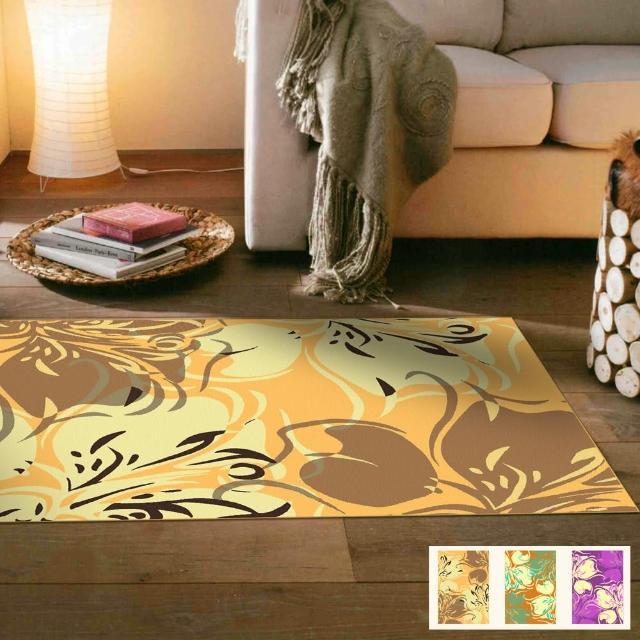 【范登伯格】奧斯汀光澤絲質感地毯-迷蝶-共三色(70x120cm)