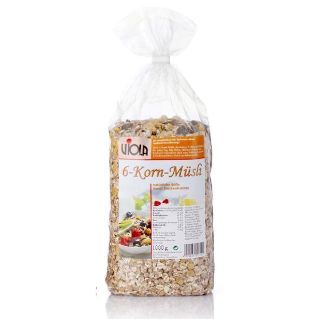 【VIOLA】德國綜合穀粒穀片-天然亞麻子添加(1000g)