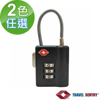 【TSA海關鎖】鋼索鎖(1入)