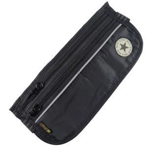 【PUSH!嚴選】3艙室6夾層 防搶包 防盜腰包 護照包 隱形貼身腰包(STAR)