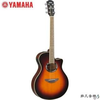 【非凡樂器館】YAMAHA山葉電木民謠吉他(APX500II)