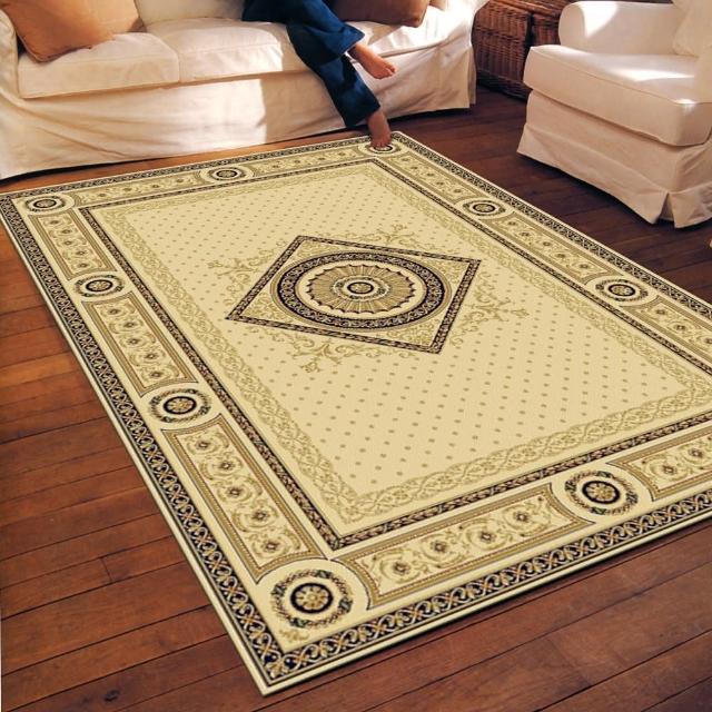 【范登伯格】薩比精緻雅典柔爽絲質感地毯玄關墊-殿堂-共二色(140x190cm)