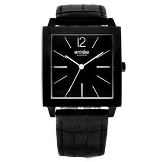 【LICORNE】entree 專屬經典時尚都會腕錶(黑 LT005MBBB)
