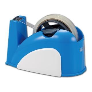 【ABEL力大牌】小巧鯨安全專利膠帶台(清新藍)