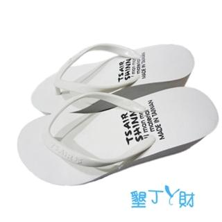 【 墾丁ㄚ財 】LOFTY系列素面人字拖(白)