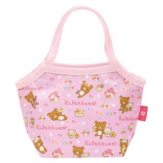 【San-X】懶熊假日野餐系列防水保冷手提袋