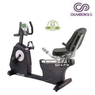 【強生CHANSON】黑金剛斜背式健身車(CS-428)