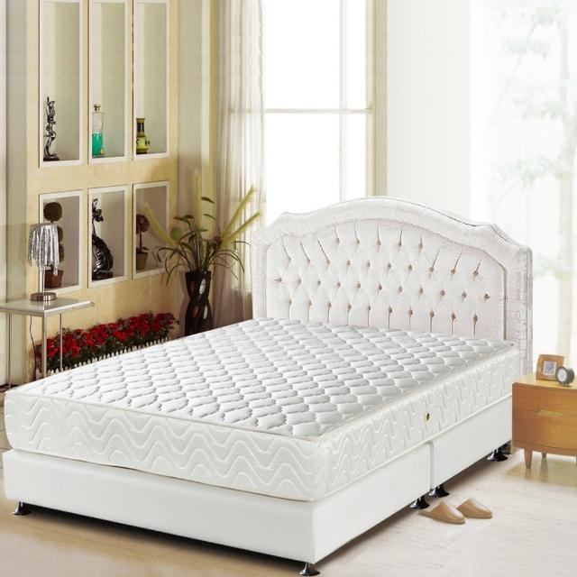 【睡芝寶-頂級-3M防潑水+護邊強化+蜂巢式獨立筒床墊-加大】