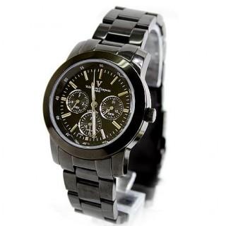 【Valentino范倫鐵諾】真三眼設計手錶時尚藍寶石鏡面(NE280)