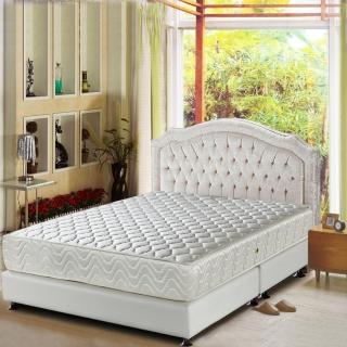 【睡芝寶-頂級天然乳膠+3M防潑水-蜂巢式獨立筒床墊-雙人】