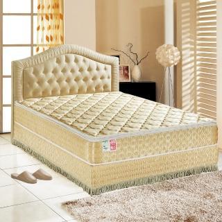 【睡芝寶-正三線-矽膠-蜂巢式獨立筒床墊厚24cm-VIP限定-加大】