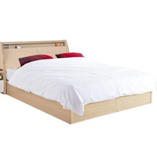 【顛覆設計】居家極簡雙人床頭箱+床底(兩色可選)