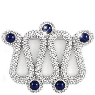 【SWAROVSKI】ATELIER系列華麗蜿蜒水晶鑲嵌胸針(法國製)