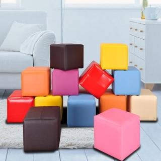 《BuyJM》Q比炫麗亮彩巧克力椅/超值二入/8色可選