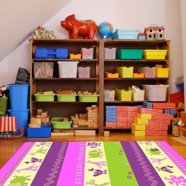 【范登伯格】奧斯汀☆可愛歡樂絲質地毯-可愛動物(140x200cm)