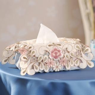 【芸佳】花舞繡花系列-面紙盒套