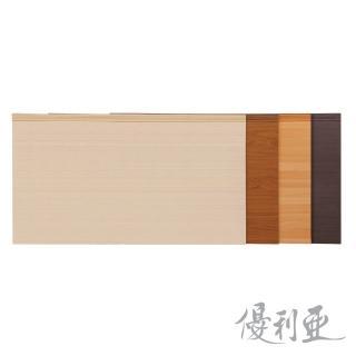 【優利亞-簡約美學木心板】雙人5尺床頭片(4色可選)