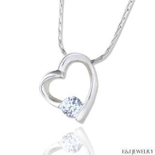 【E&I】-甜心咒語-八心八箭完美車工美鑽項鍊