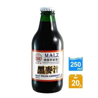 【崇德發】黑麥汁-手轉易開瓶(250ml x 20瓶)