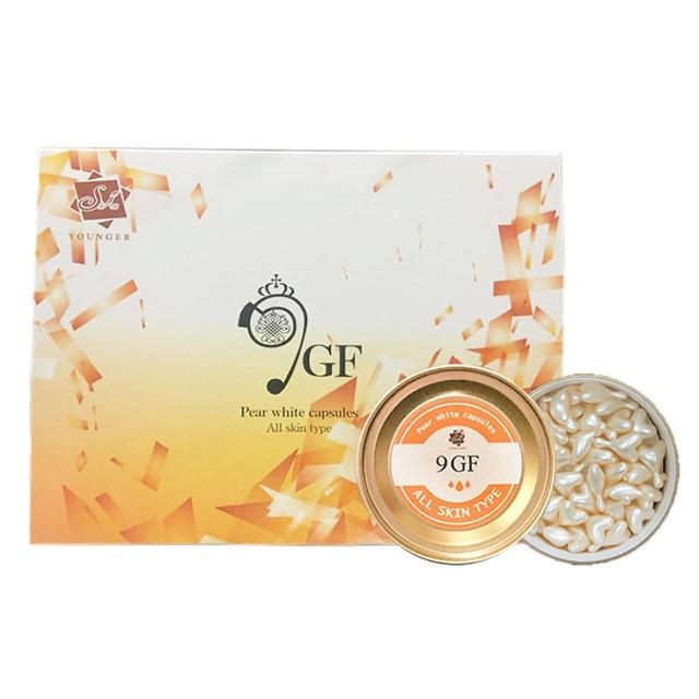 【Skin Younger】珍珠白9GF時空膠囊6罐(180顆)