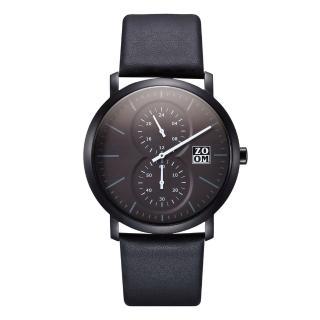 【ZOOM】Muse 繆思系列特殊讀時腕錶(黑)