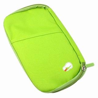 【iSFun】旅行專用*護照證件包/淺綠