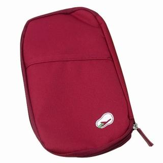 【iSFun】旅行專用*護照證件包/紅