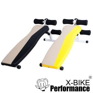 【Performance X-BIKE】50400 雙色仰臥起坐訓練板/伏地挺身架