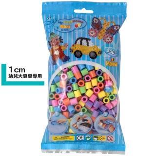 【Hama幼兒大豆豆】500顆大拼豆袋裝補充包(50粉彩色)