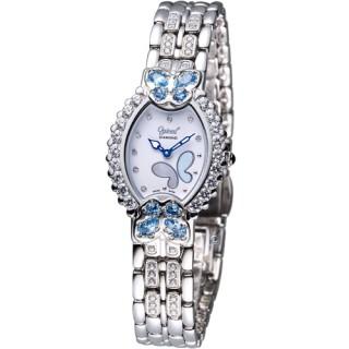 【Ogival 】瑞士愛其華 舞蝶系列 璀璨腕錶(380-05DLW-SB)