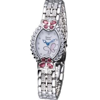 【Ogival 】瑞士愛其華 舞蝶系列 璀璨腕錶(380-05DLW-SR)