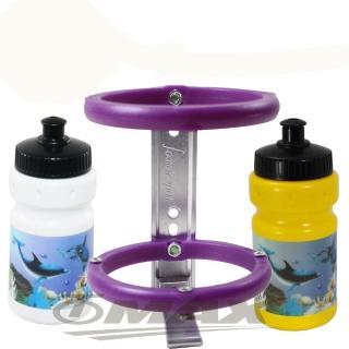 鐵馬行3D兒童水壺+多功能水壺架