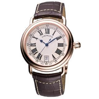 【AEROWATCH】Lady Elegance 經典機械腕錶(A60900R101)
