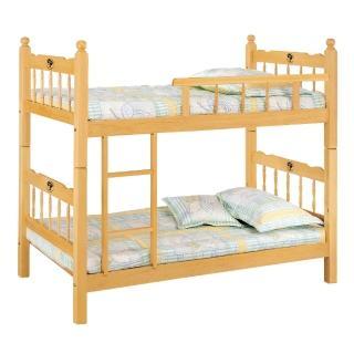 【顛覆設計】耐吉3.2尺單邊實木雙層床(不含床墊)